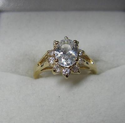 Bijoux Femme Bague T50 Joaillerie de Diamant Cz 2 à 6 mm Argent Massif
