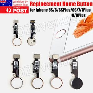 the best attitude a4796 78d12 Details about iPhone 6 7 8 Home Button Finger Fingerprint Sensor Flex Cable  Ribbon Replacement
