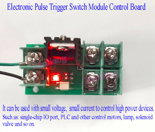 Electronic Pulse Trigger Switch Module Control Board Control MOSFET Optocouplers