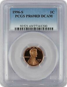 1996-S-Lincoln-PROOF-Cent-Graded-PR69RD-DCAM-by-PCGS