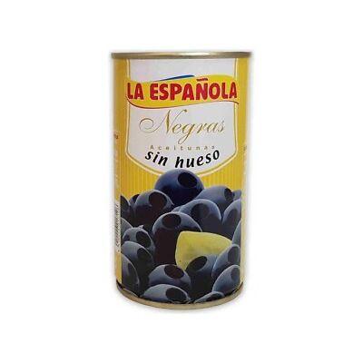 La Española Aceitunas Negras Sin Hueso 350g
