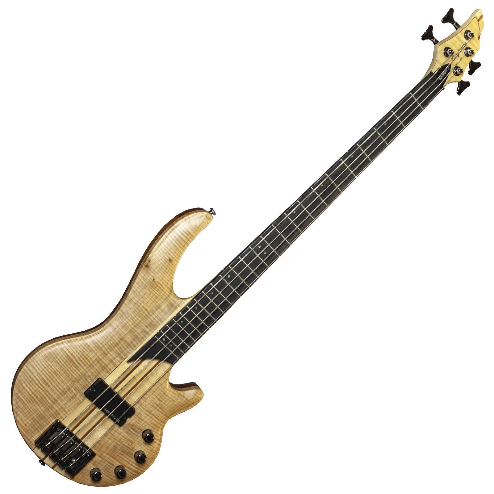 Escala de largo Tanglewood Canyon II Bajo Eléctrico Guitarra Guitarra Guitarra Arce Flameado EQ activas ae46ea