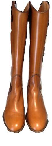in Mara 5 alti Nwt Bini piatti 38 Designer Donna Stivali pelle taglia marrone UqYxrUF