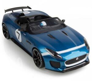 GENUINE JAGUAR PROJECT 7 CONCEPT CAR 1:18 SCALE MODEL - ECURIE BLUE - JDDC030BLW