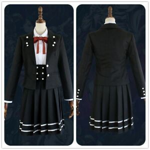 Danganronpa V3 Shirogane Tsumugi Uniform Cosplay Costume Outfits Shirt Skirt SET