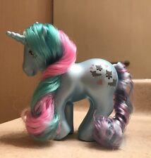 Custom Pony ~ Puppy Love -Unicorn Pearlized Pony G1 Style  MIB Little Schnauzer