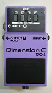 BOSS-DC-2-Dimension-C-Guitar-Effects-Pedal-Made-in-Japan-1985-35-Free-Shipping