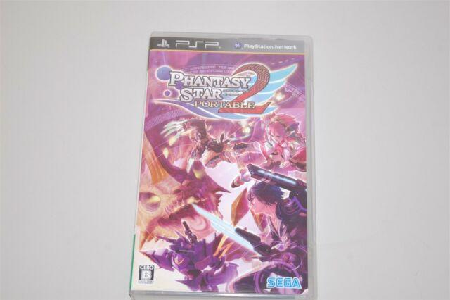 Phantasy Star Portable 2 Japan Sony PSP game