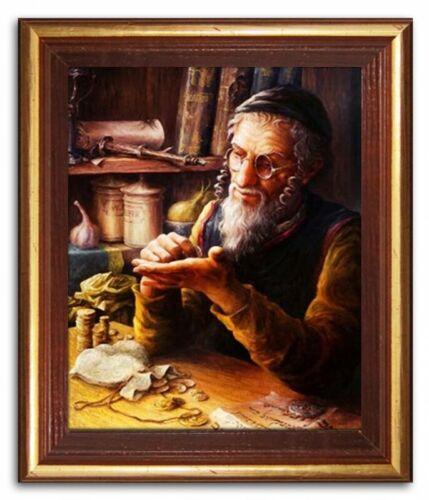 Ölbild Ölbilder Gemälde Bilder Bild Handgemalt Öl mit Rahmen Barock Kunst G94887