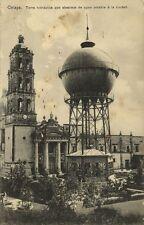 mexico, CELAYA, Guanajuato, Torre Hidraulica que Abastece de Agua Potable 1910s