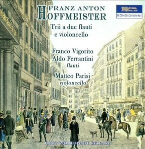FRANZ-ANTON-HOFFMEISTER-TRII-A-DUE-FLAUTI-E-VIOLONCELLO-NEW-CD