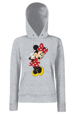 Süßer Fun Mädchen Kinder Hoodie Kapuzen Pullover Minni Maus Mickey Geschenkidee