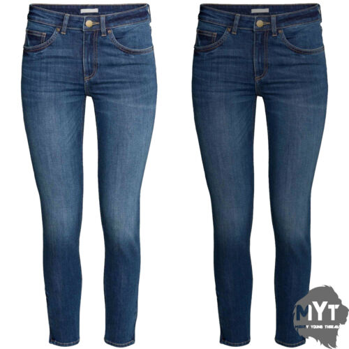 "Womens Jeans Ex Zara Ladies Jeans Denim Trouser New All Sizes Leg Length 30/"""