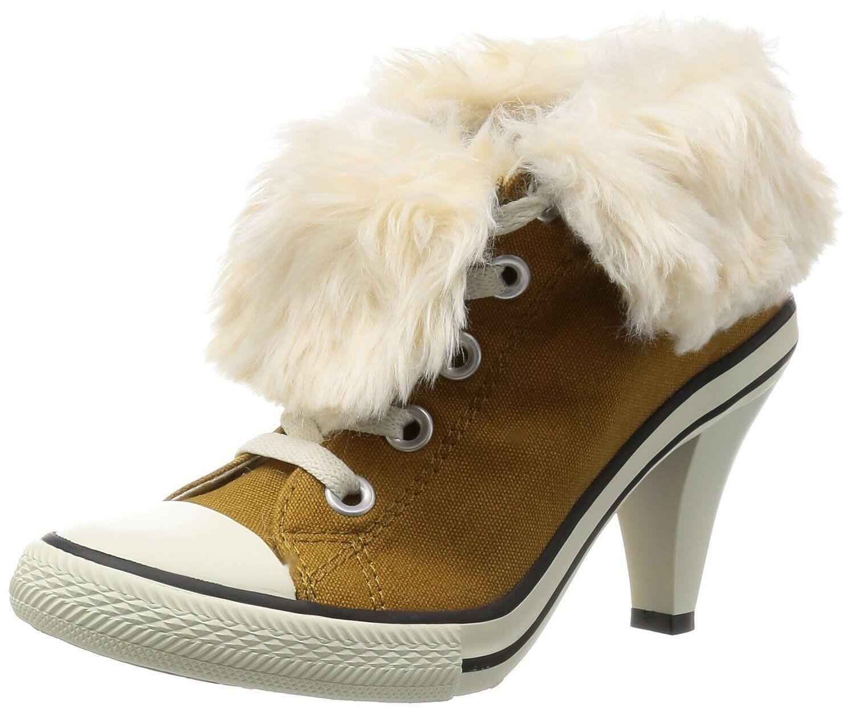 Converse All Star Women High Heel Casual Sneakers Women HI BOA Wheat Orchard