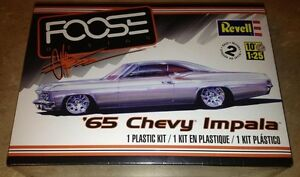 Revell-Foose-039-65-Chevy-Impala-1-25-scale-car-model-car-kit-new-4190