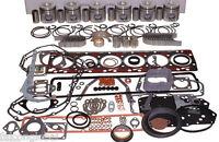 Ford Tractor 401t Turbo Engine Kit 8630 9000 9600 401 Pistons Bearings Valves