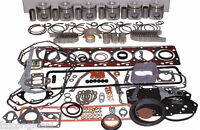 Ford Tractor 401t Turbo Engine Kit 8630 9000 9600 401 Pistons Bearings Valves