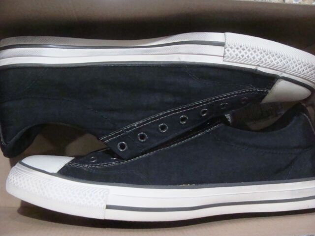 9bb9f0166fe Converse X John Varvatos CTAS Slip on Vintage Shoes 153903C Size ...