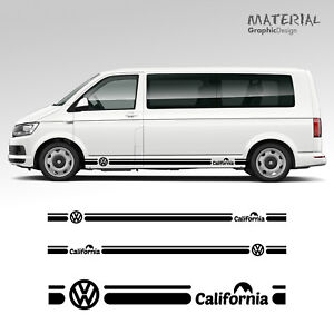 Volkswagen-VW-California-Side-Stripe-Decal-T4-T5-T6-Caravelle-Vehicle-Graphic