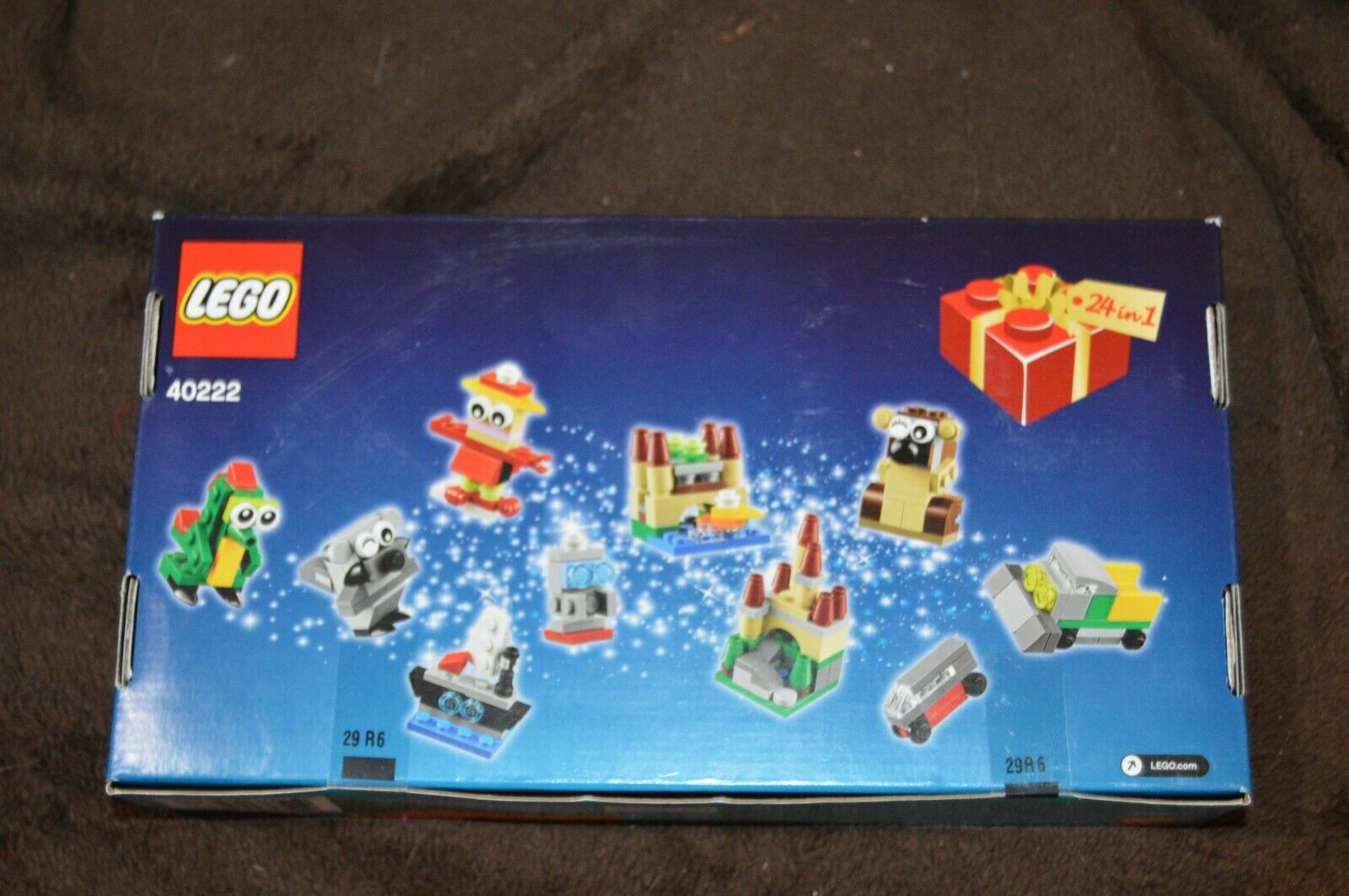 LEGO 40222 Christmas Christmas Christmas Advent 2016 Calendar Countdown 24-in-1 Factory Sealed 90b044
