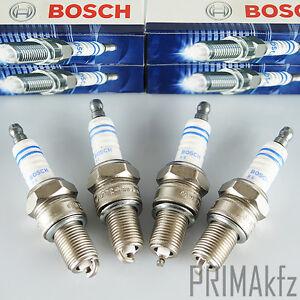 4x-BOSCH-Zuendkerzen-8-FR7DC-Opel-Astra-G-H-Calibra-Combo-Corsa-B-C-D-Kadett-E