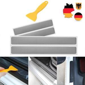 4Pcs Einstiegsleiste Lackschutz FolieTür Leisten Verkleidung Rakel