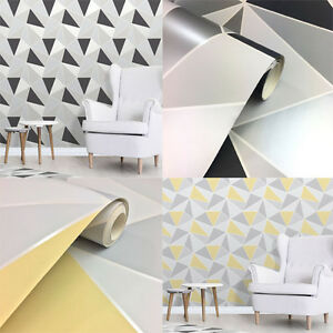 Fine-Decor-Apex-Geometric-Metallic-Wallpaper-Abstract-Triangle-10m-2-Colours