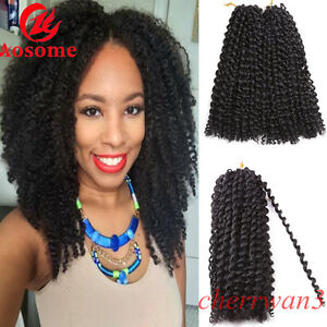 2pcsset 12 Mali Bob Curly Twist Crochet Braid Hair Synthetic