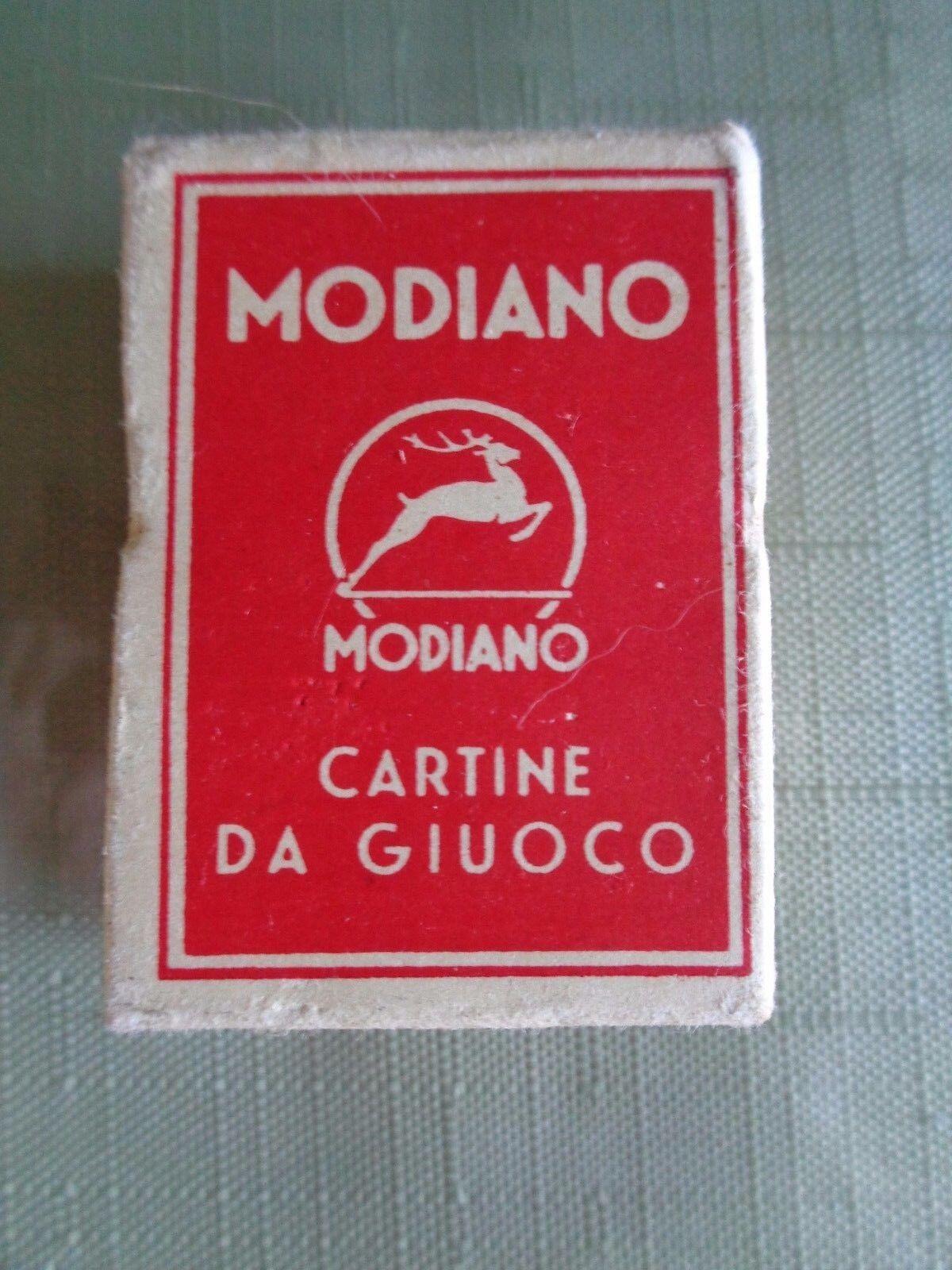 Tienda de moda y compras online. Modiano Napoletane regional italiano jugando a las las las Cochetas 97 25 300 Vintage Década de 1950  mejor opcion