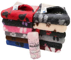 Vet Fleece Bedding Vetbed Durable Quick Drying Washable Dog Bed Retains Heat