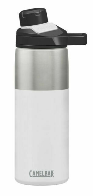 Capacity 20 oz for sale online White CamelBak Chute Mag Vacuum Insulated Stainless Steel Water Bottle