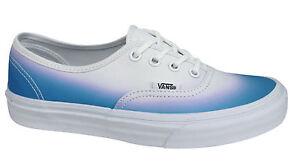 Vans Off the wall originale OMBRE con lacci blu bianco unisex