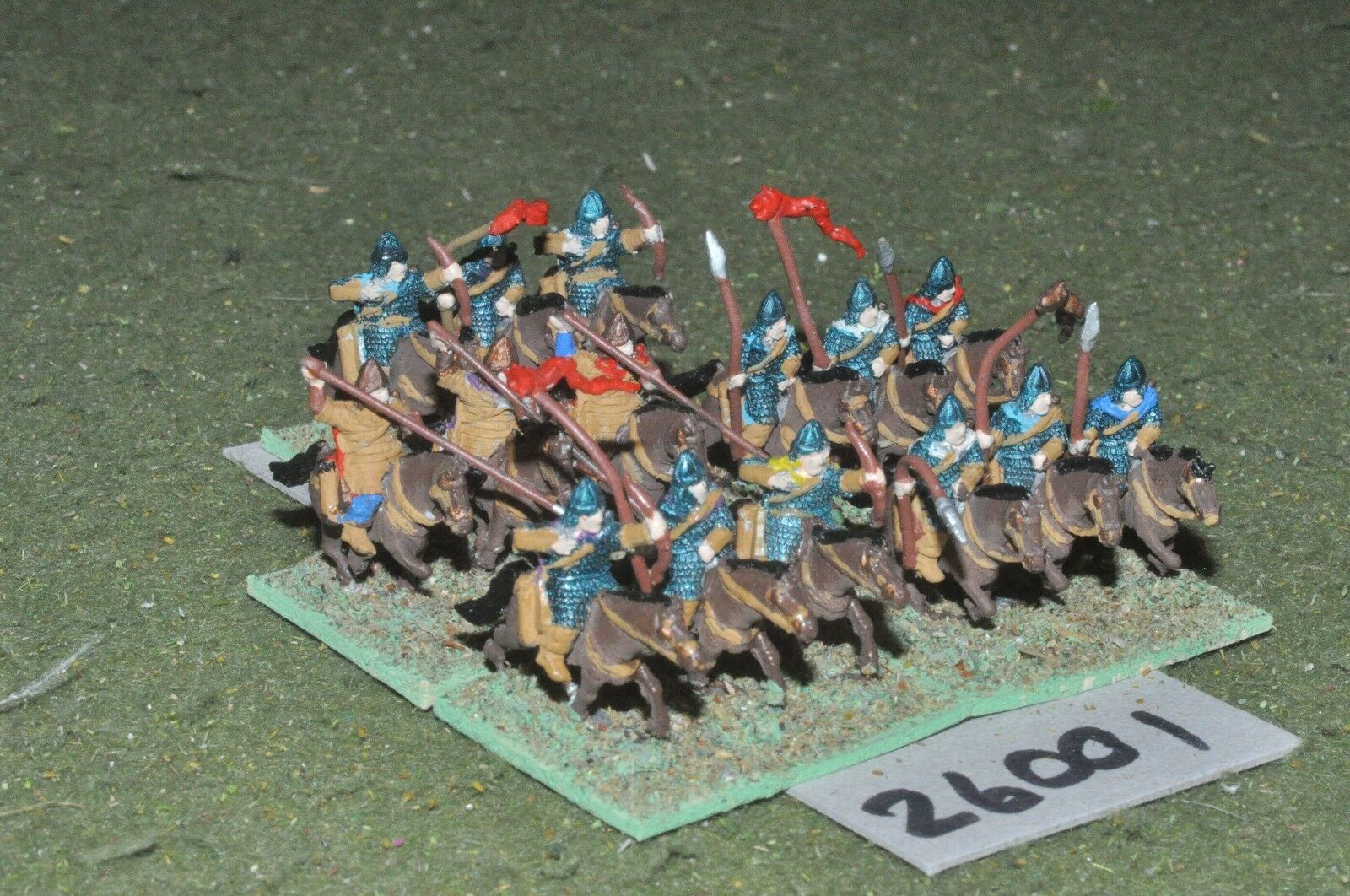 15mm roman era   sarmatian - heavy 15 figures - cav (26001)