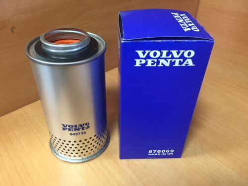 Volvo Penta 876069 Crankcase Filter Replaces 3830004 843736 875850 876070 OEM