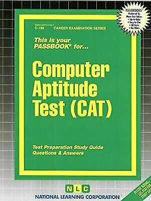 National Learning Corporation-Computer Aptitude Test (Cat) BOOK NEW