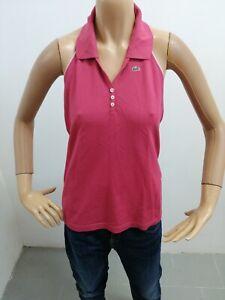 Maglia-LACOSTE-donna-taglia-size-44-maglietta-t-shirt-woman-cotone-P-5527