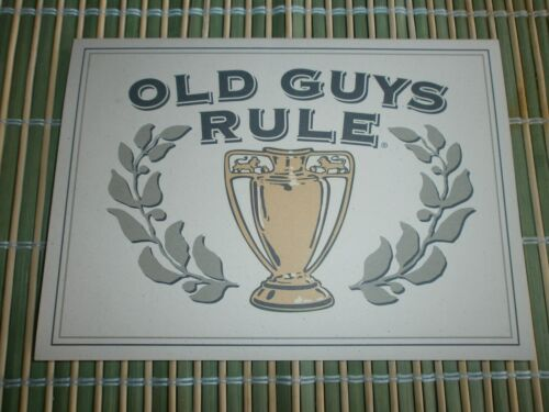 "10 OLD GUYS RULE GENUINE CARDS WITH ENVELOPES "" TO MY TROPHY HUSBAND "" 5"" X 7"""