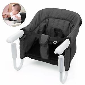 STEO-Chaise-Haute-pour-Bebe-Enfant-Siege-avec-Ceinture-De-Securite-Stable-Sur