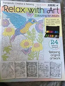 Relax-with-art-colouring-book
