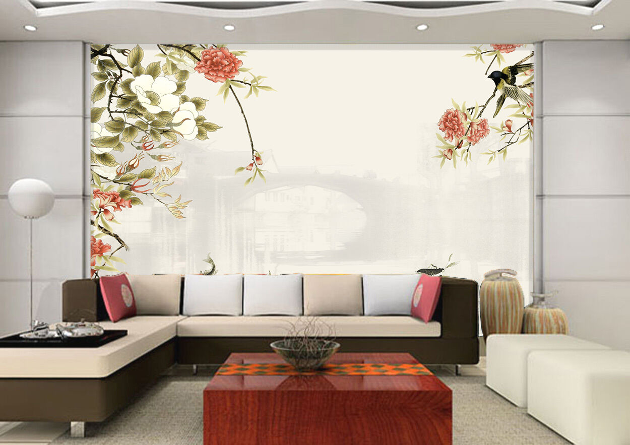 3D Unscharfen Hintergrund Fototapeten Wandbild Fototapete BildTapete Familie DE