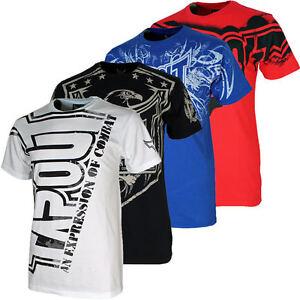 Tapout-Herren-T-Shirt-S-M-L-XL-XXL-Hardcore-Darkside-Bolt-Felony-Corruption-neu