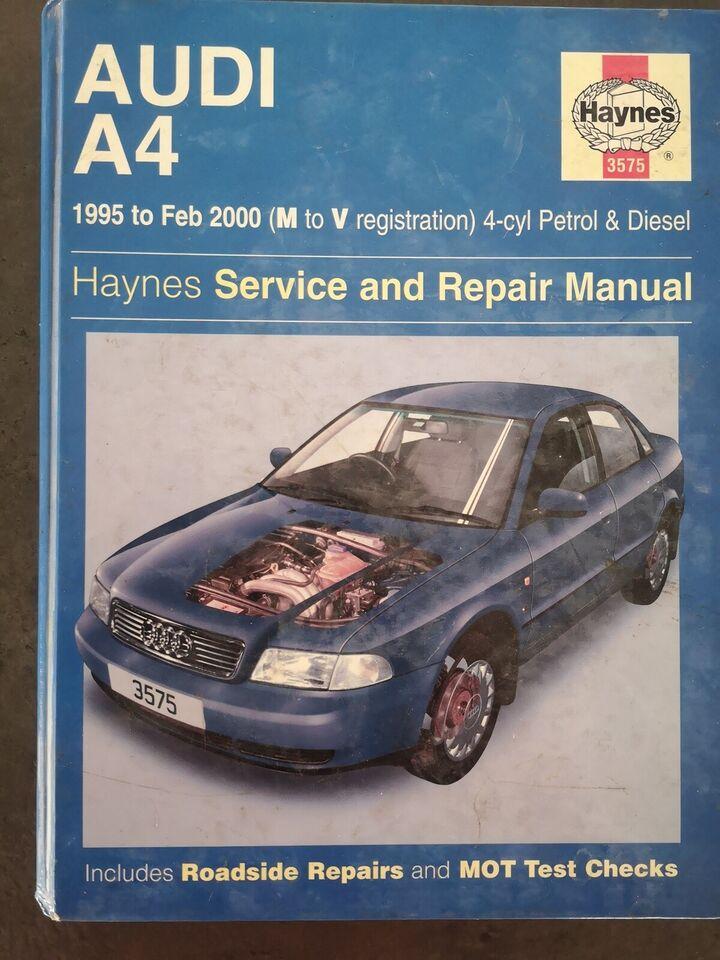 Haynes reparationsmanual, Audi A4
