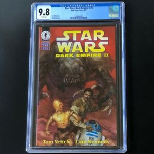 Star-Wars-Dark-Empire-II-5-1995-CGC-9-8-Jacen-amp-Jaina-Dark-Horse-Comics