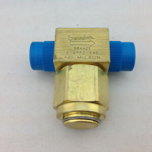 Swagelok-B84625-B-6TF2-440-Micron-Filter-w-1-2-in-Tube-Connections