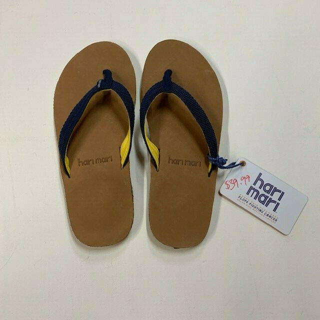cd52781d58f4 S Authentic Hari Mari Womens Scouts Navy Yellow Size 7 for sale ...