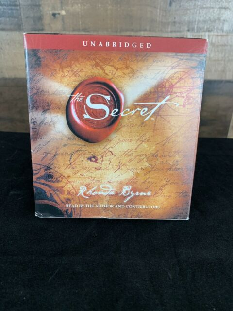 The Secret By Rhonda Byrne Audiobook 2006 4 CD's