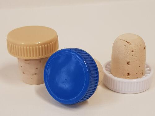 Durchmesser Stopfen 19 mm Griff  aus Kunststoff 10 Griffkorken