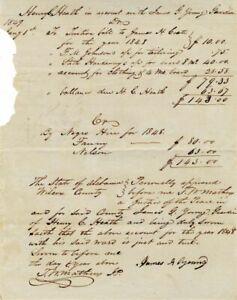 1849 - Slavery Document