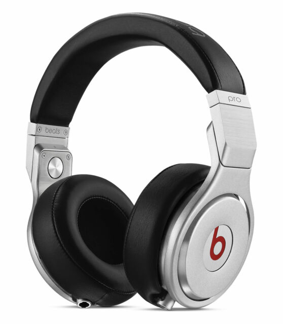 Beats By Dr Dre Pro Over The Ear Headphones Black Silver For Sale Online Ebay
