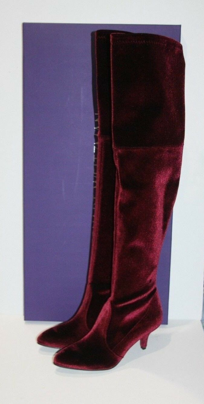 795 NIB STUART WEITZMAN Bordeaux Currant TIEMODEL OTK  Stiefel Größe  5.5  OTK  35.5 589d56